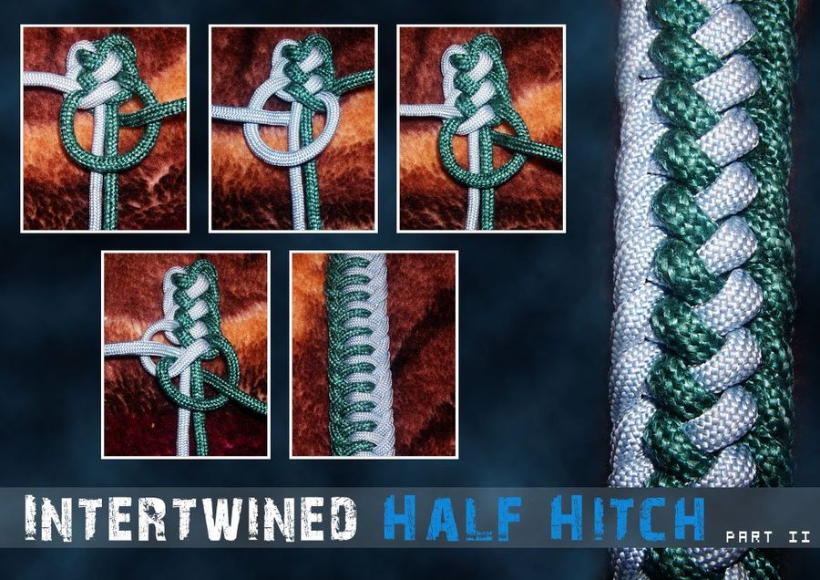 Intertwined Half Hitch - ParaCord Archive